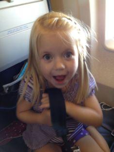 First plane ride!