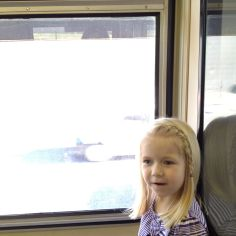 First train ride!