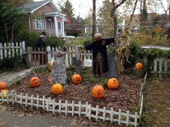 Cemetery of Jack-o-lanterns