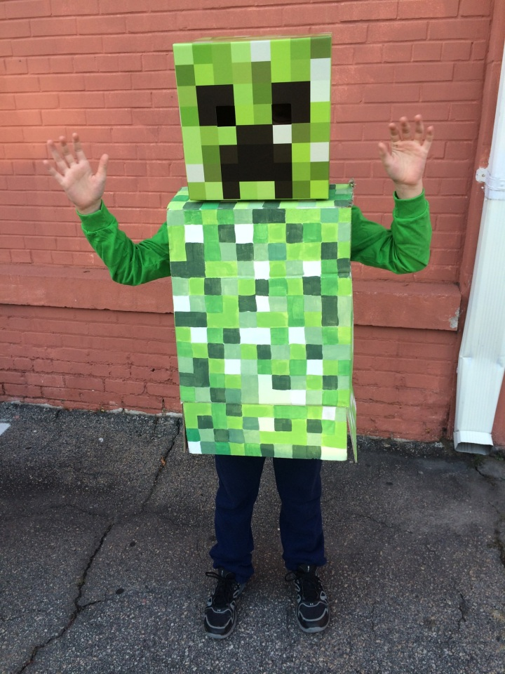 minecraft creeper costum